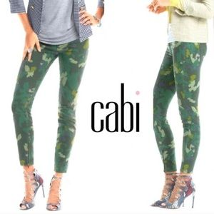 CAbi | Clover Ankle Skinny Camouflage Jeans
